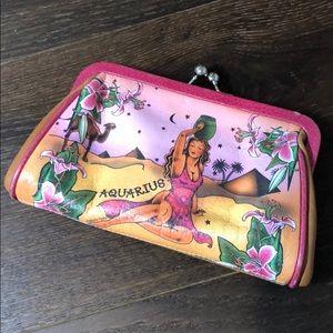 Isabella Fiore Aquarius Vintage Clutch